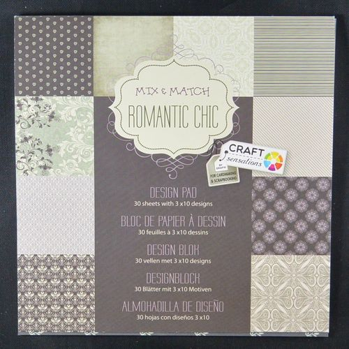 "Paper Block ""Romantic"""