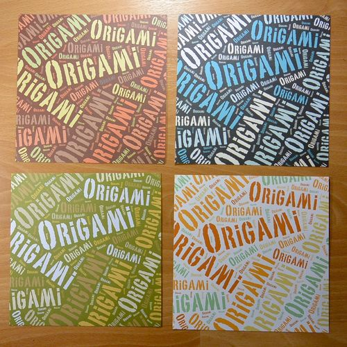 Origami Tag Cloud